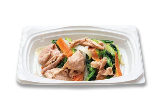 豚野菜炒めおかずの画像