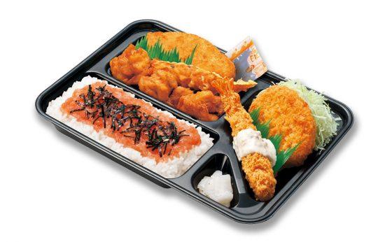 スペシャルカラ・めんたい弁当