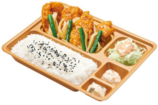 カレーチキン竜田弁当