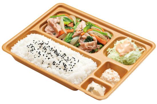 豚野菜炒め弁当